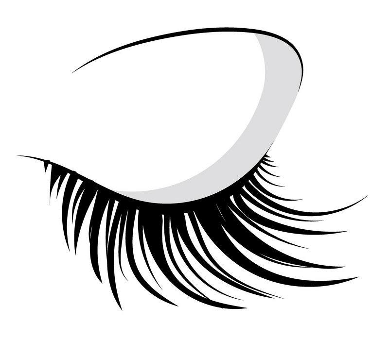 Eyelash clipart 7
