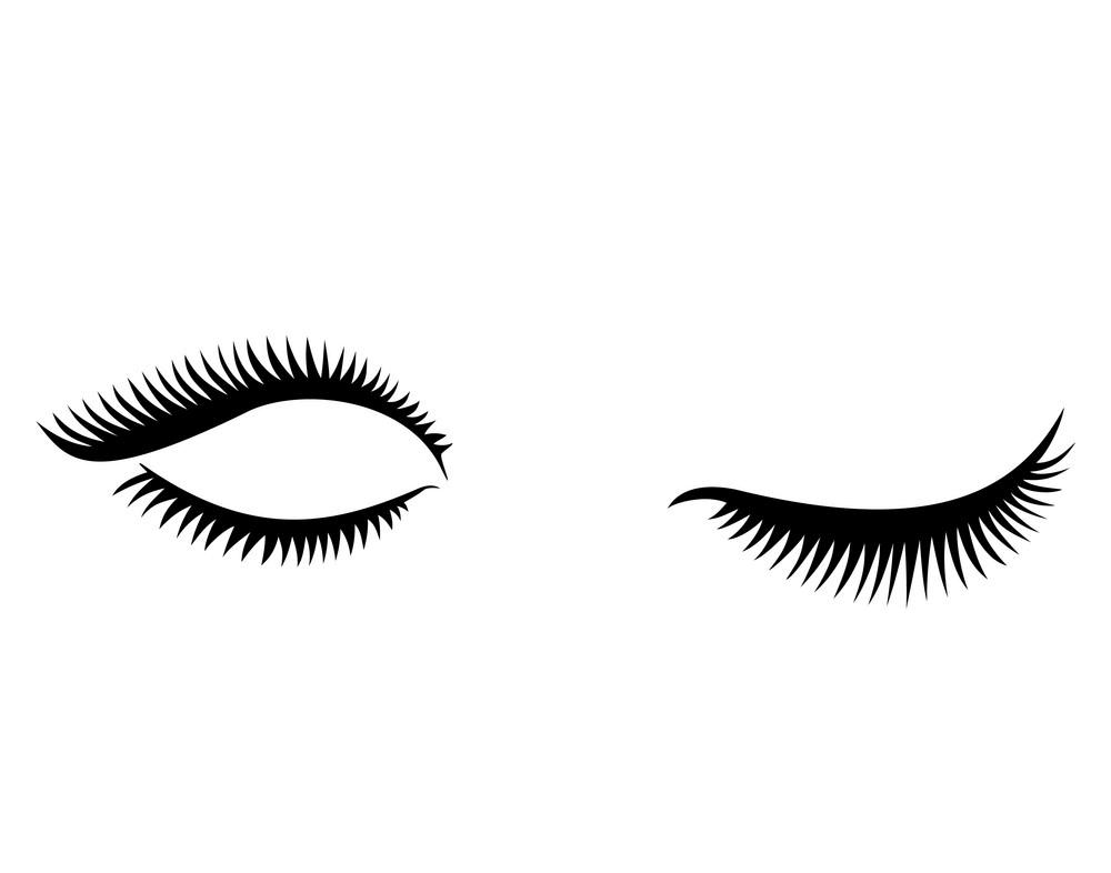 Eyelash clipart 8
