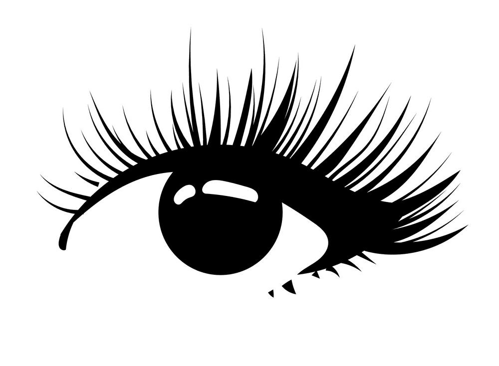 Eyelash clipart free 4
