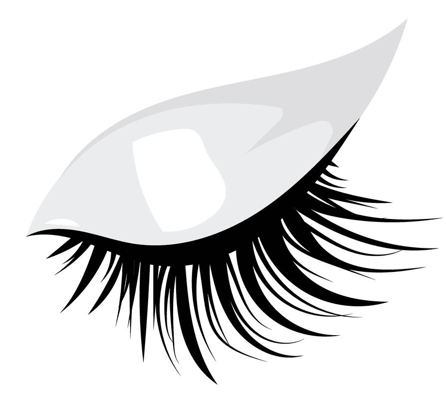 Eyelash clipart free 5