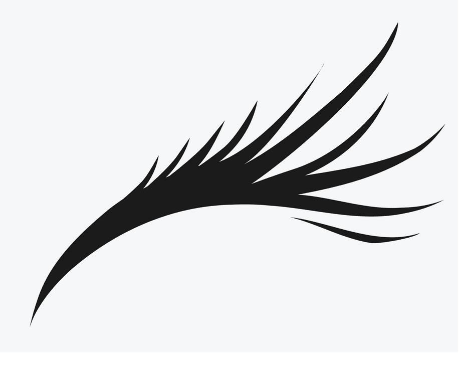 Eyelash clipart free 6
