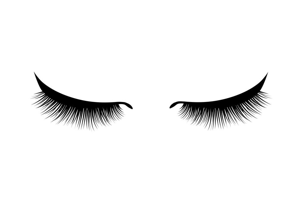 Eyelash clipart free