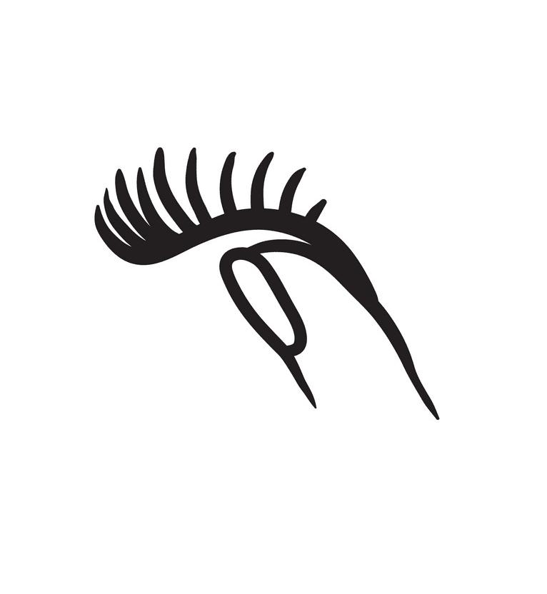 Eyelash clipart png 1