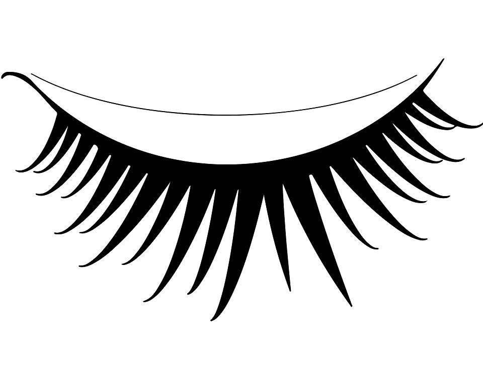Eyelash clipart png 3