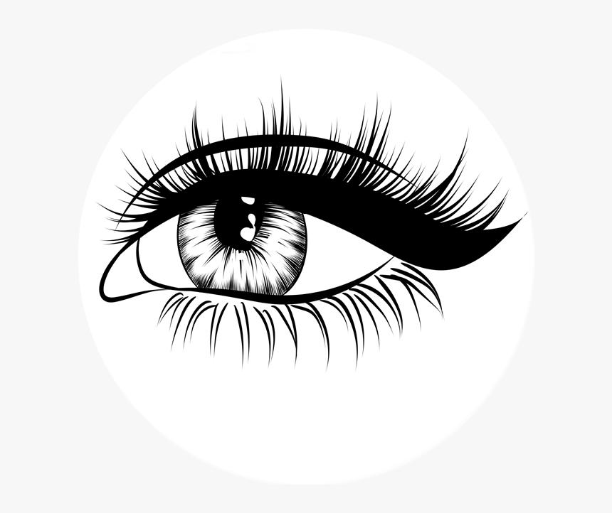 Eyelash clipart png