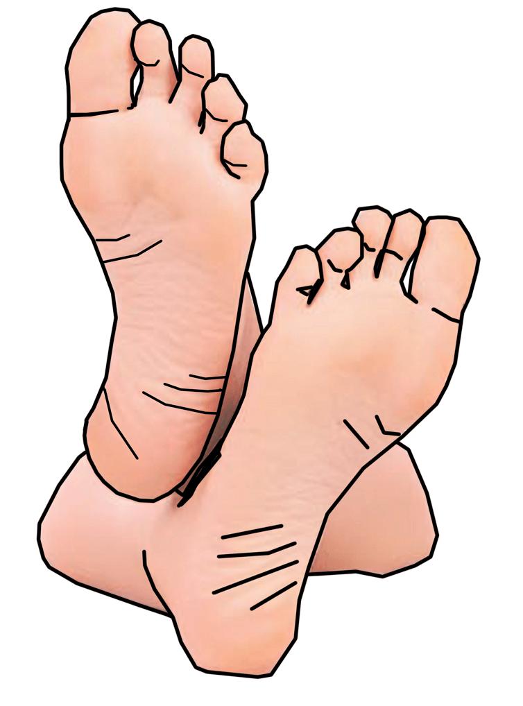 Feet clipart 1