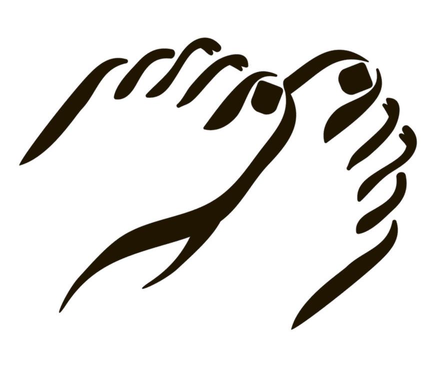 Feet clipart 10
