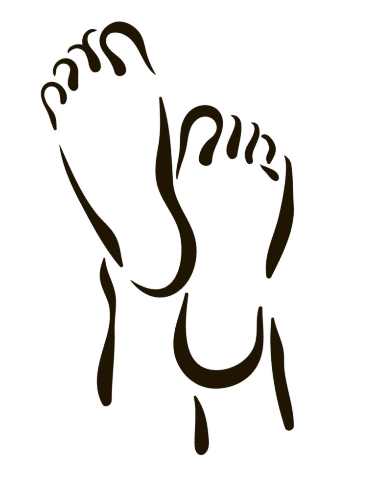 Feet clipart 12