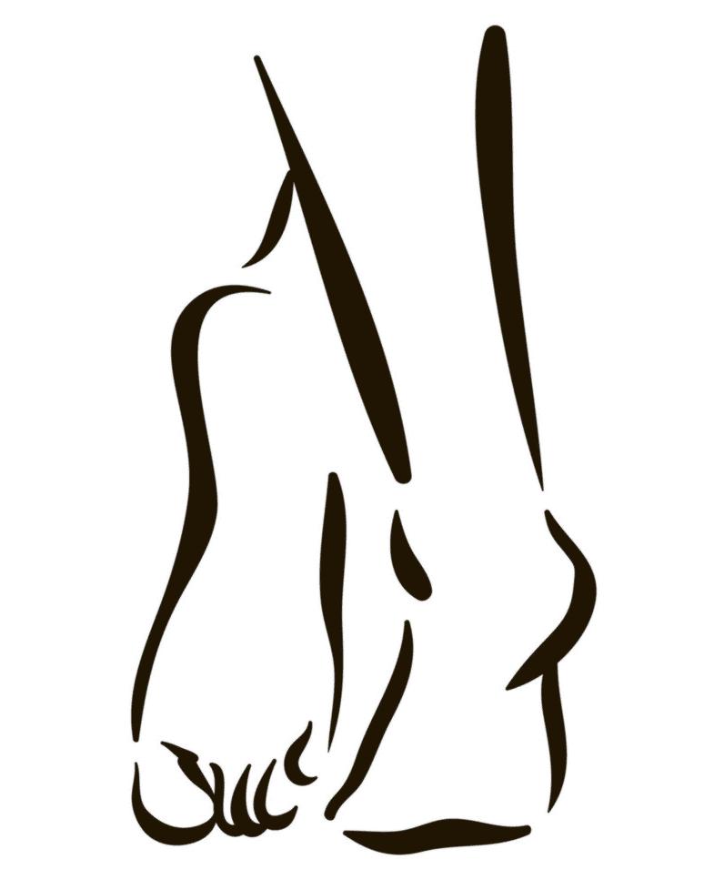 Feet clipart 13