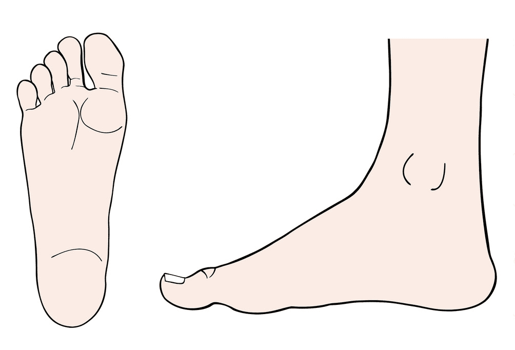 Feet clipart 14