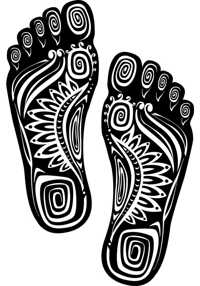 Feet clipart 2