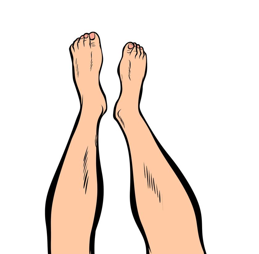 Feet clipart 4