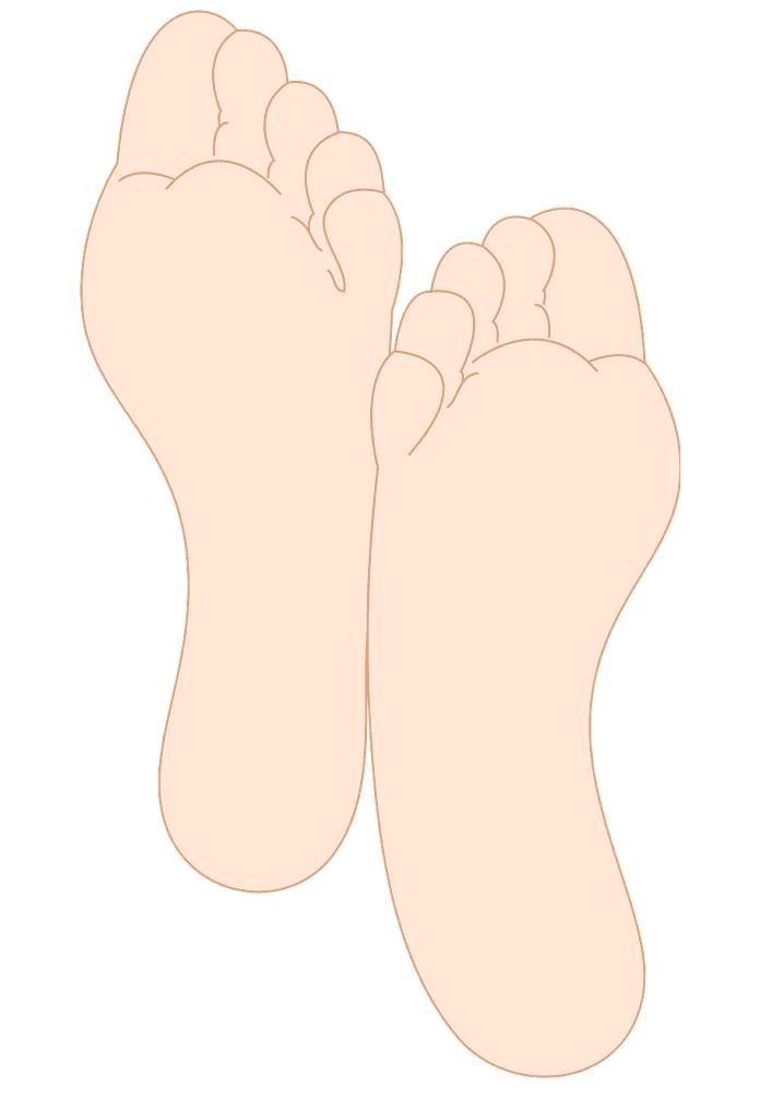 Feet clipart 6