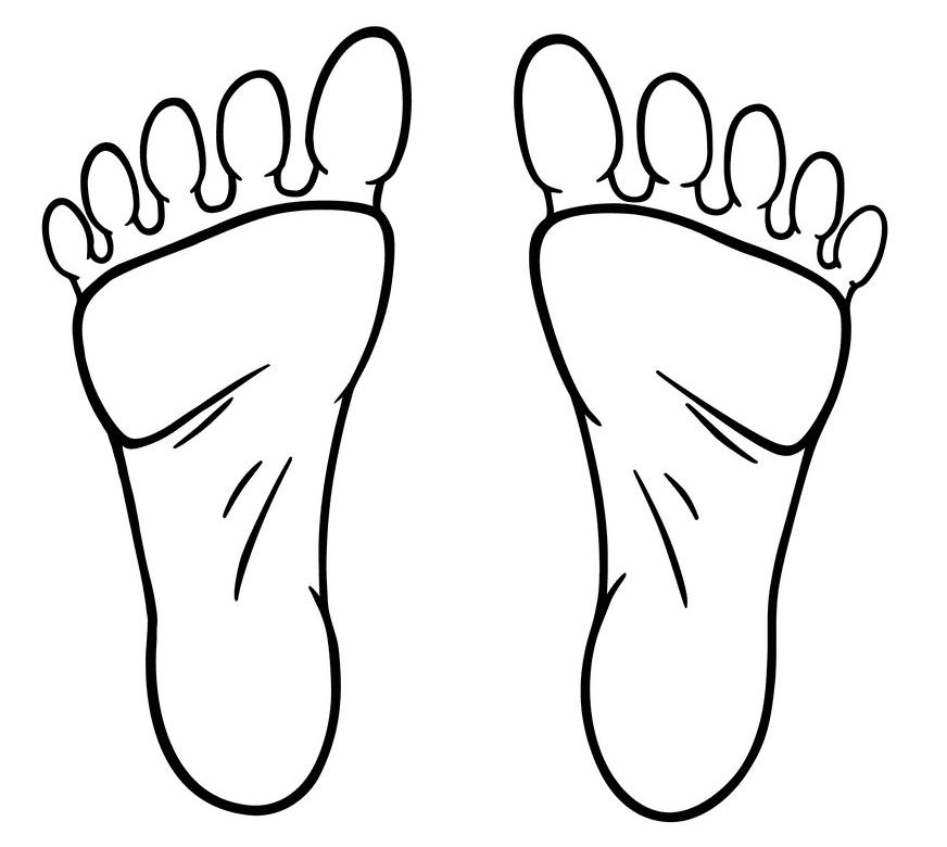 Feet clipart 7