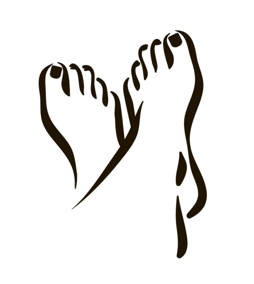 Feet clipart 9