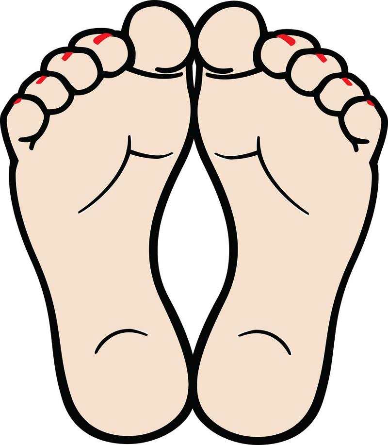 Feet clipart transparent 1