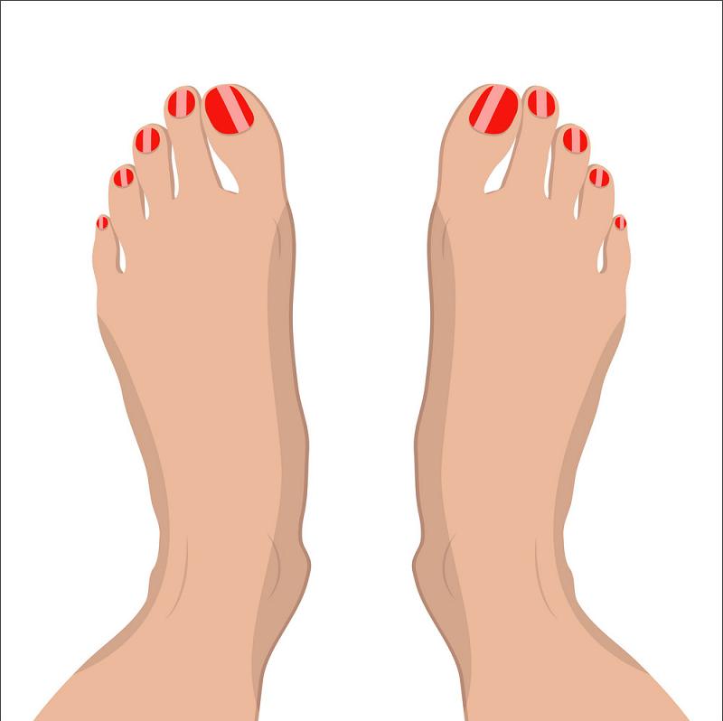 Female Feet clipart
