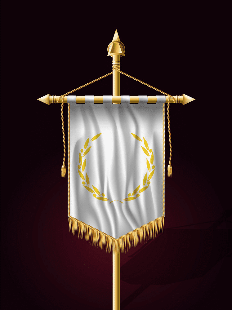 Festive Flag Banner clipart