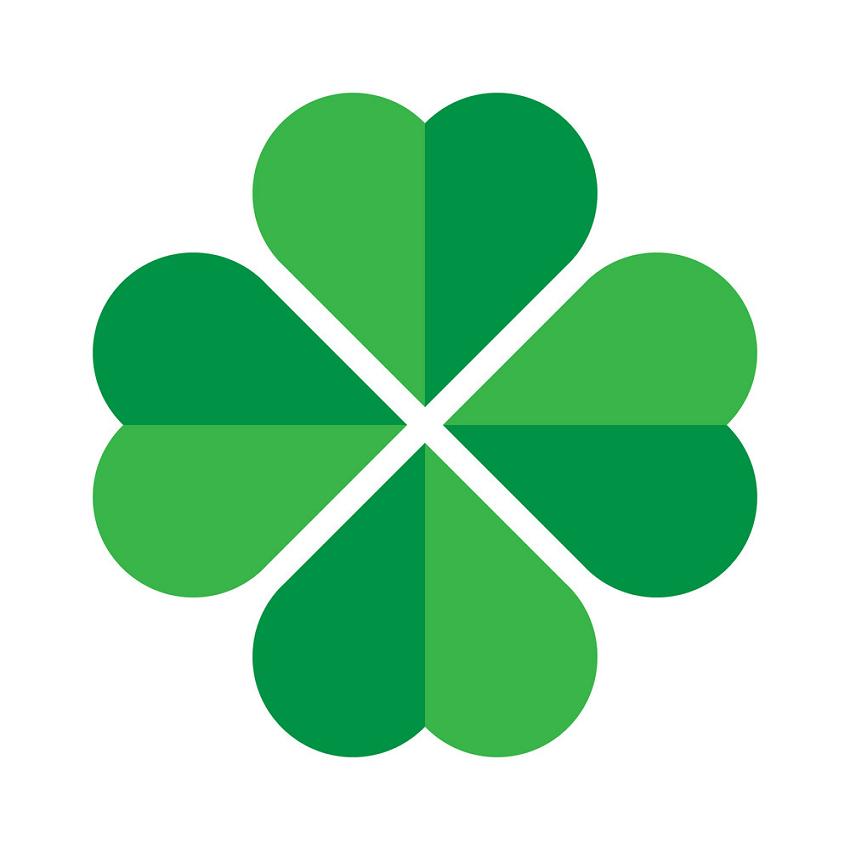 Four Leaf Clover clipart 1