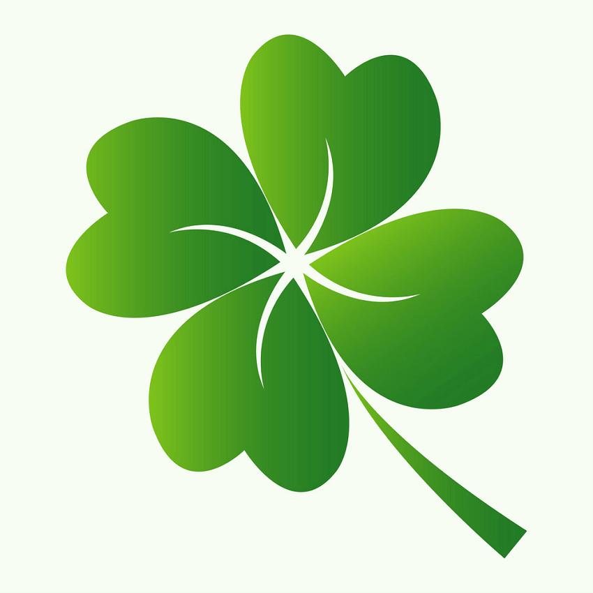 Four Leaf Clover clipart free