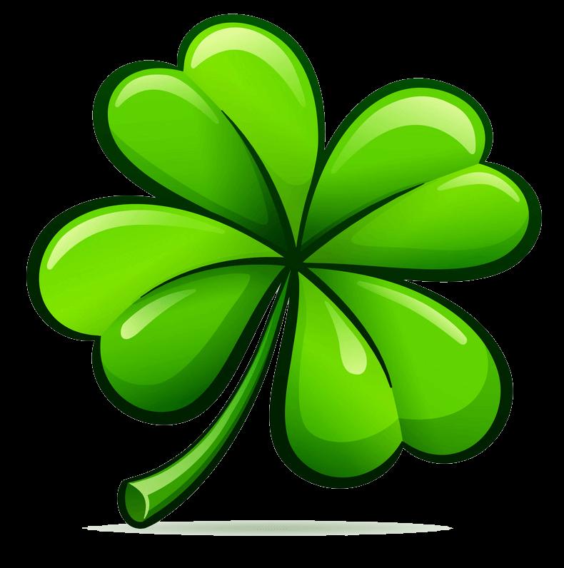 Four Leaf Clover clipart transparent 1