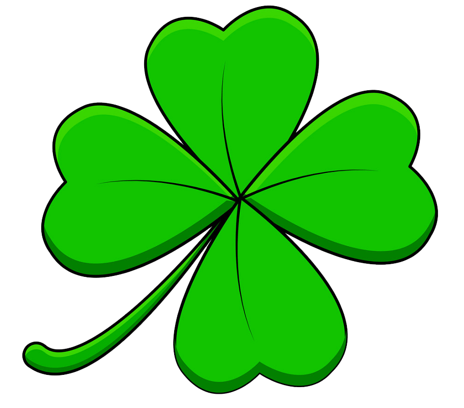 Four Leaf Clover clipart transparent 3