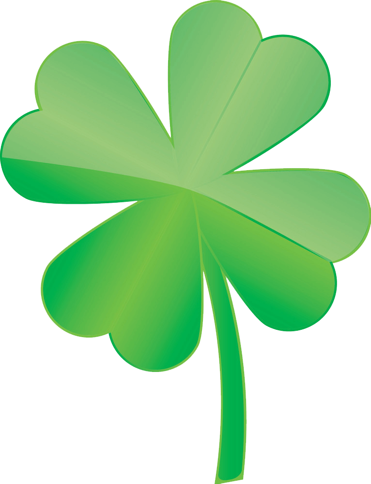 Four Leaf Clover clipart transparent 5