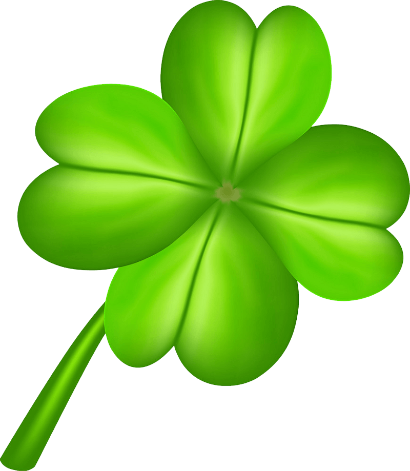 Four Leaf Clover clipart transparent 7