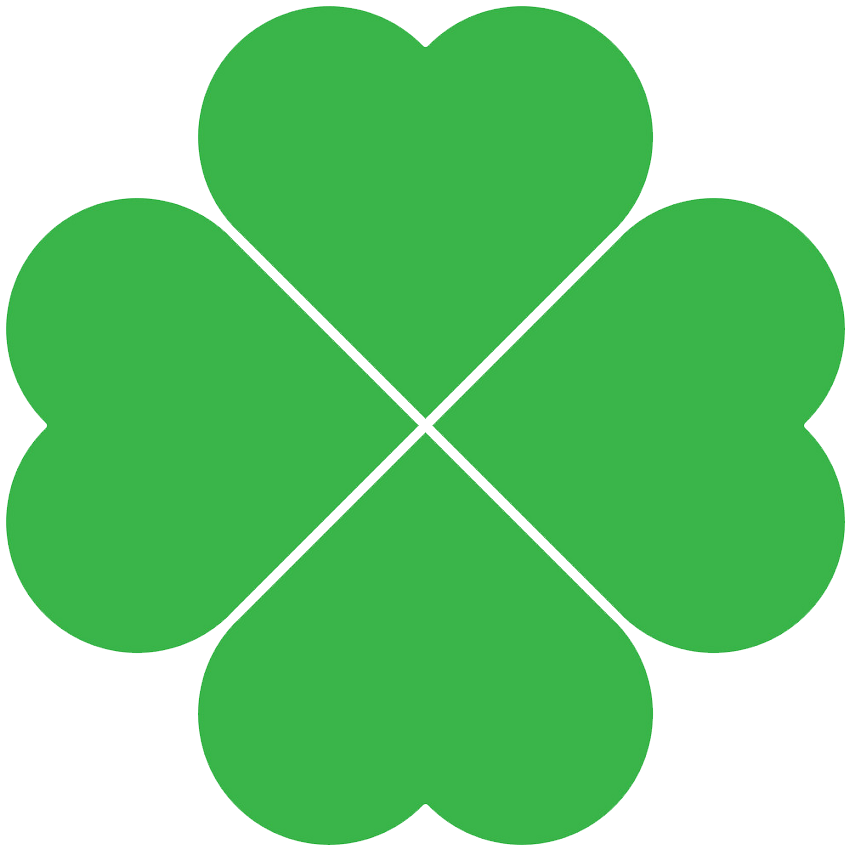 Four Leaf Clover clipart transparent