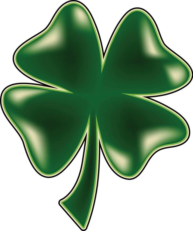 Four-leaf Clover clipart png