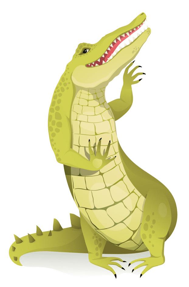Free Alligator clipart 1