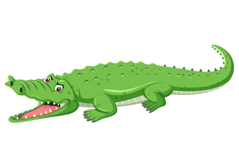 Free Alligator clipart 2