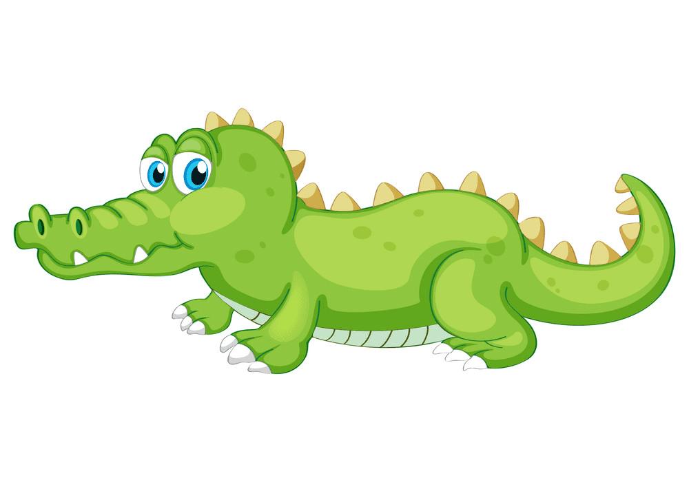 Free Alligator clipart 5