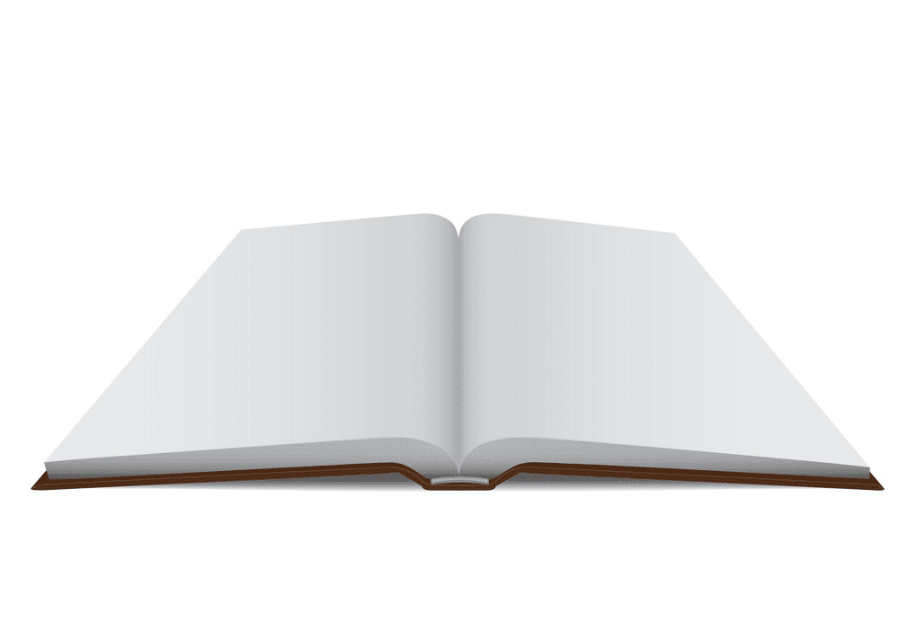Free Clipart Open Book