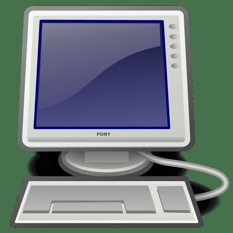 Free Computer clipart transparent