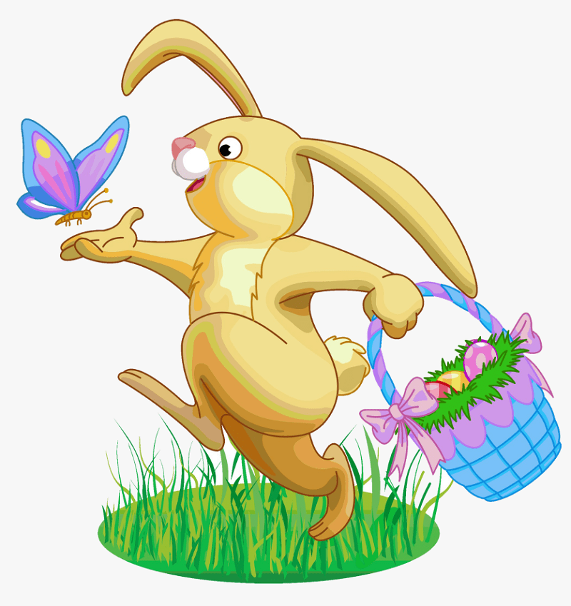 Free Easter Rabbit clipart png