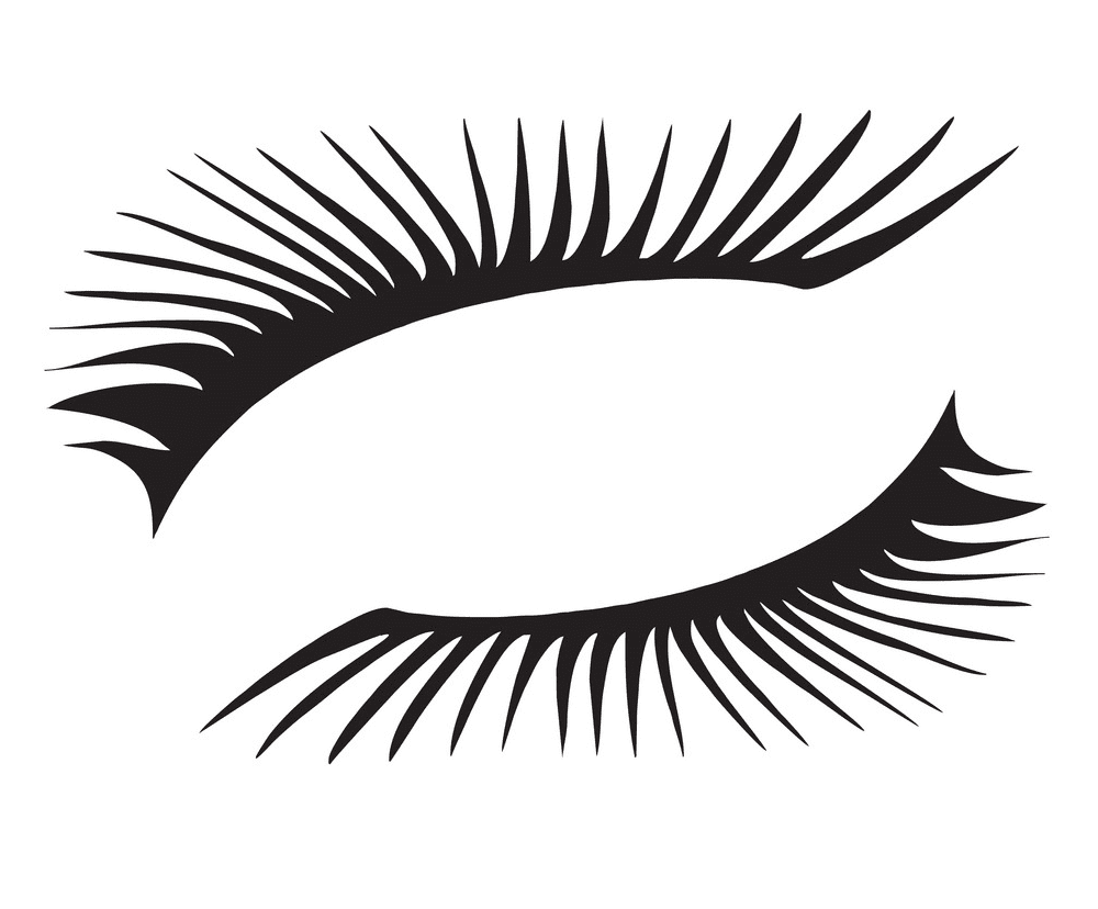 Free Eyelash clipart png