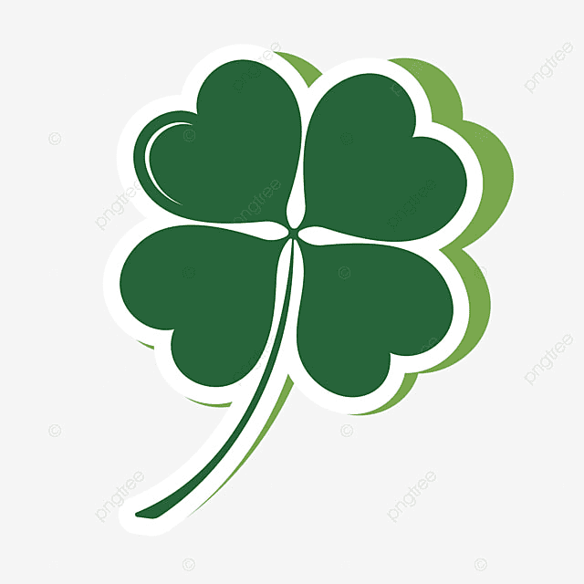 Free Four Leaf Clover clipart 1