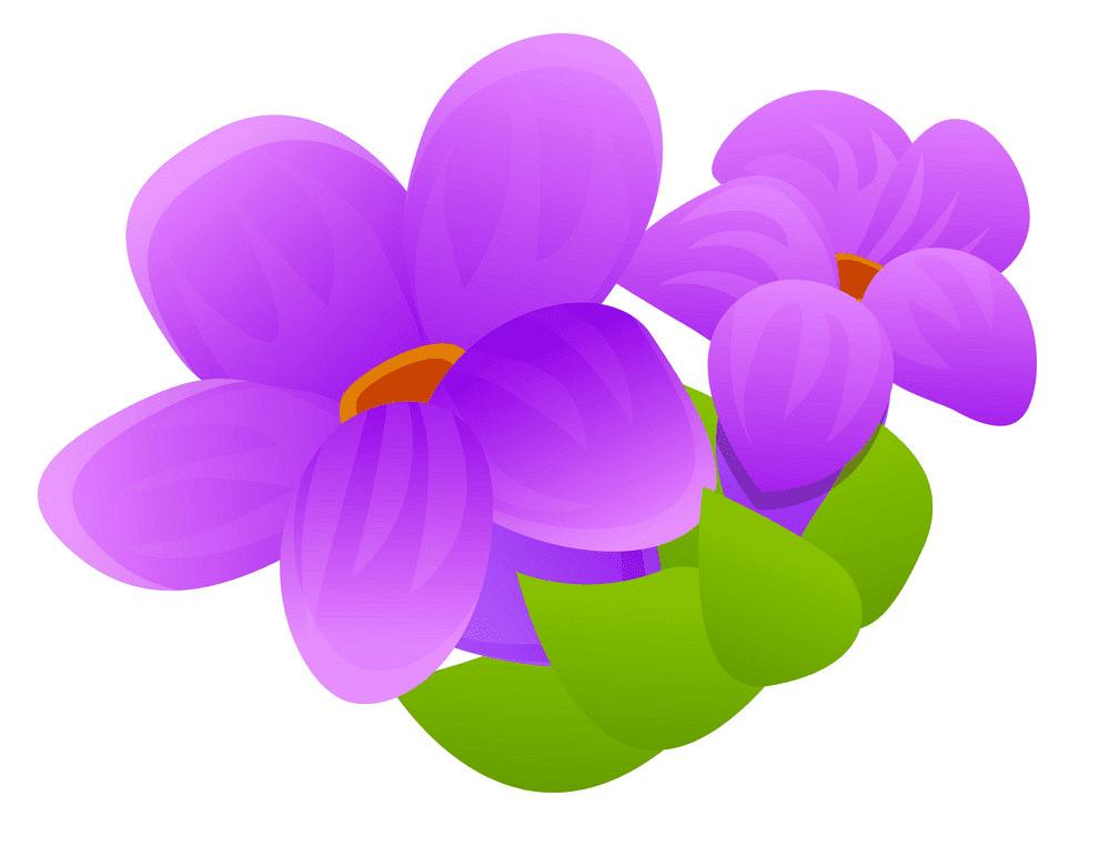 Free Lavender Flower clipart