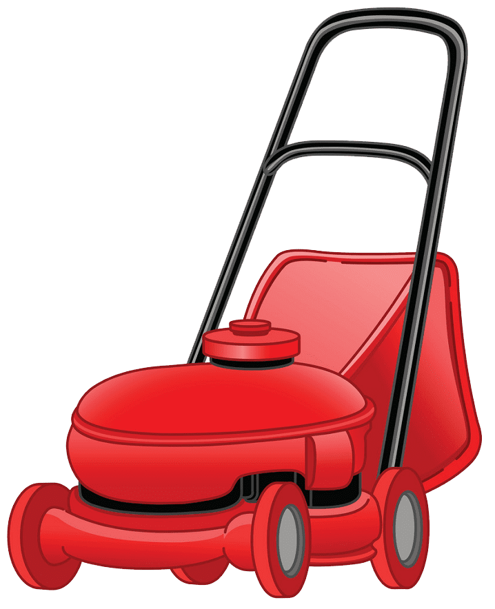 Free Lawn Mower clipart transparent