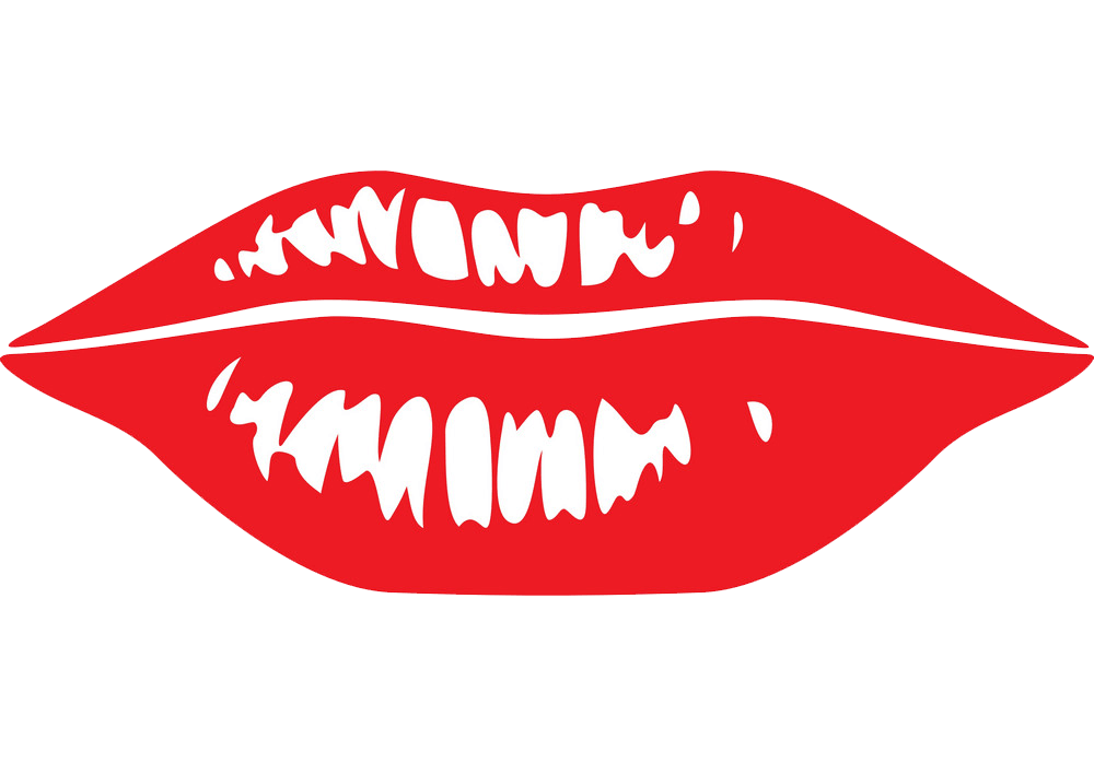 Free Lips clipart transparent