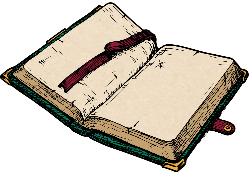 Free Open Book clipart 4