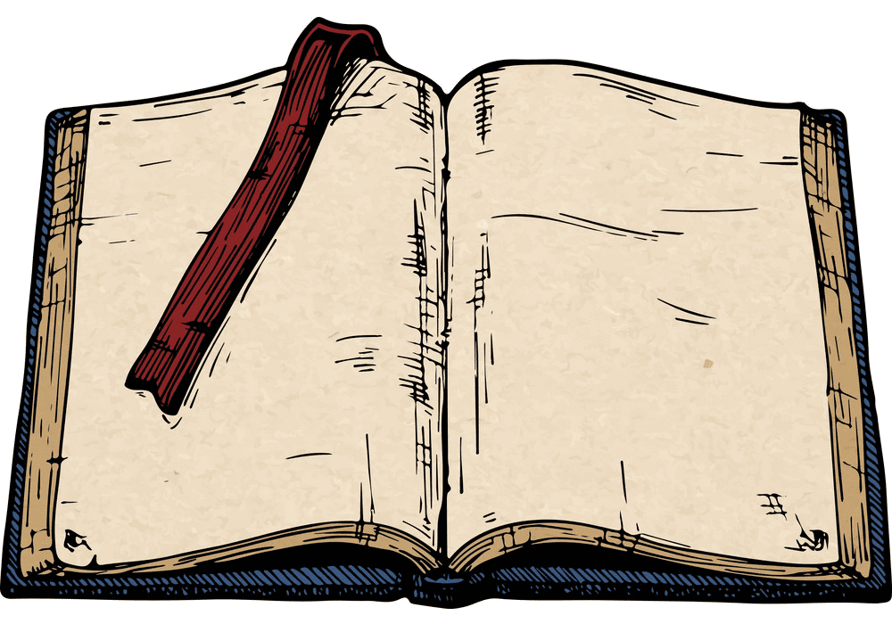 Free Open Book clipart 5