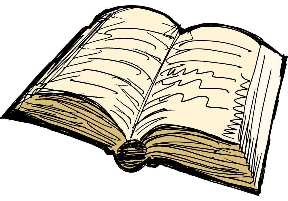 Free Open Book clipart 6