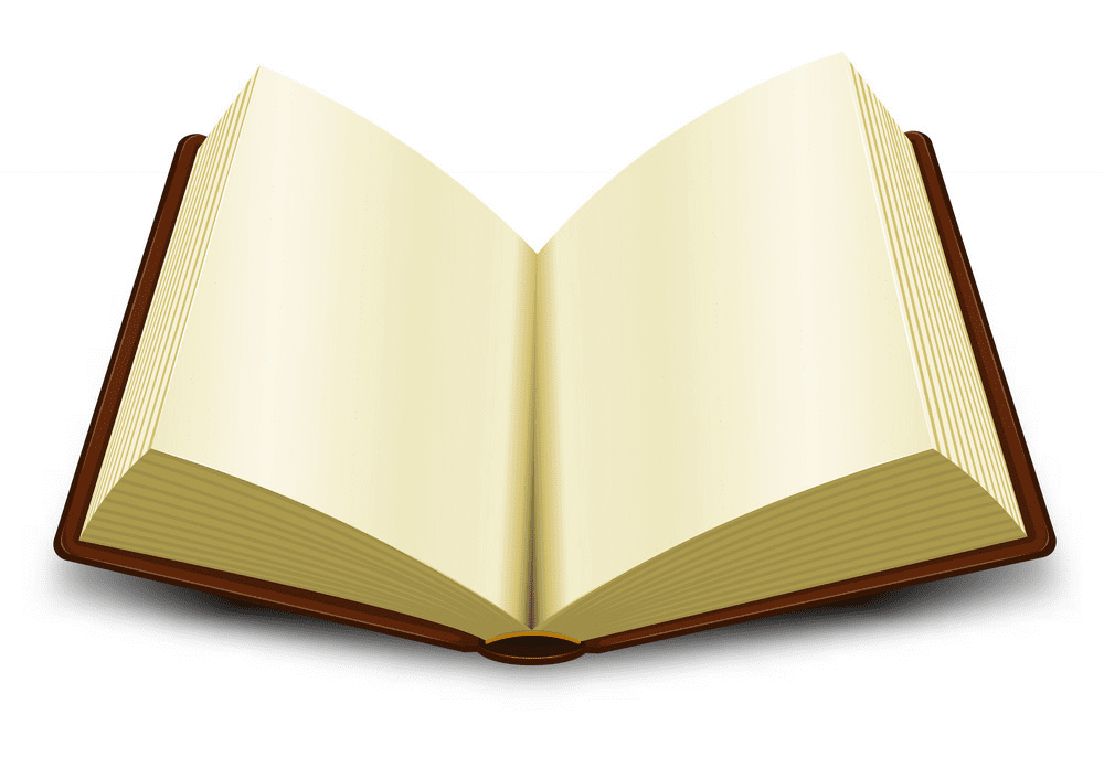 Free Open Book clipart png