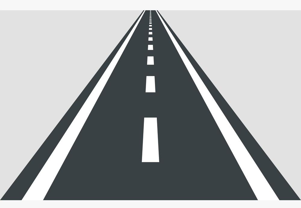 Free Straight Road clipart