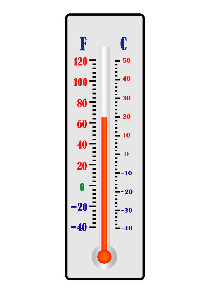 Free Thermometer clipart transparent