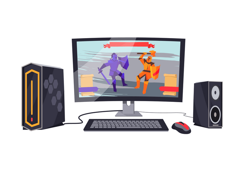 Gaming Computer clipart