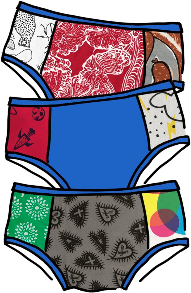 Girls Underwear clipart 1