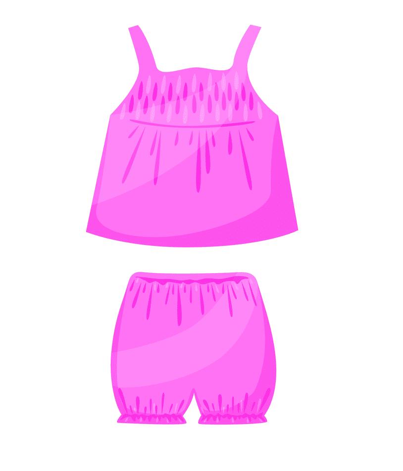 Girls Underwear clipart free